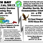 Flyer - Earth Day Event